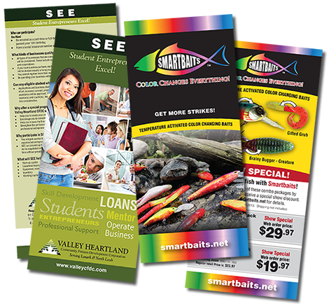 Rack Cards and Post card Printing provided by What If Graphics
