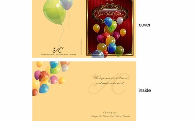 Custom Design and Printing Greeting Card