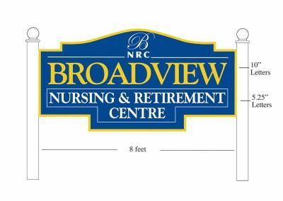 Sign Design - Broadview Nursing