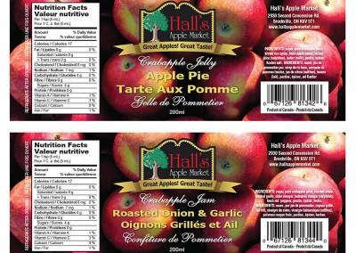 Jar Label Design & Printing