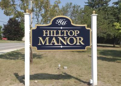 Sign Design - Hilltop Manor
