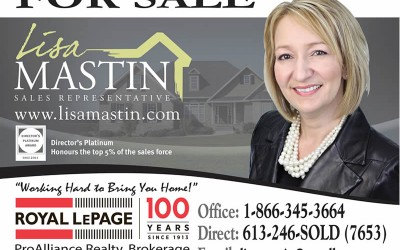 Real Estate Sign Design